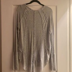 Free People Tops - Free People We The Free Catalina Grey Thermal Sz S